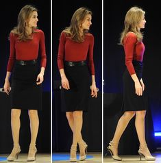 Queen Letizia of Spain ... Throwback