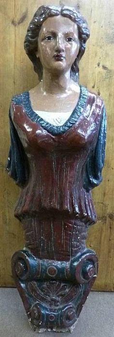 Antique Figurehead