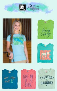 These super soft tees are going to be replaced by new products soon! Get them while your tack shop still carries them!