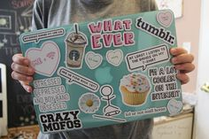 i'm going to do this, i just need to buy printable sticker paper so yayayay