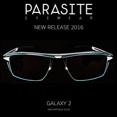 Introducing the new Galaxy 2 from Parasite Eyewear. This could quite possibly be the toughest looking frame ever .  Made out of light-weight stainless steel and polyamide (an extremely flexible and durable material) the Galaxy series comes in a variety of shapes and sizes. -- #parasiteeyewear #parasiteoptical #parasitesunglasses #parasitespecs #parasitesun #parasiteframes #parasiteeyeglasses