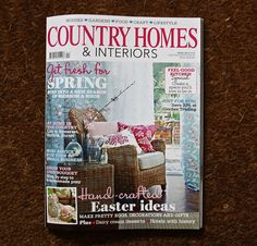Country Homes & Interiors April 2013