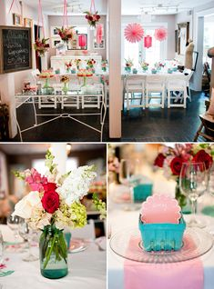 A very girly, very summer Strawberry Shortcake inspired bridal shower for you to ohh and aww over from Love Lee Photography and Recollection Vintage Rentals. Full of frilly details and of course vintage touches from this sweet shower thrown for ...