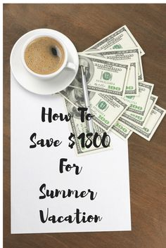 A simple trick to help you save over $1800 bucks to take your family on the ultimate summer vacation