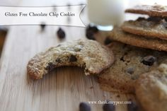Gluten-Free Chocolate Chip Cookies.  These look great: they are made with amarynth and  oats (instead of starches)