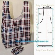Best 11 Sewing fabric bags patterns ~ make handmade – handmade – handicraft: – SkillOfKing. Sewing Hacks, Sewing Tutorials, Sewing Projects, Sewing Tips, Bags Sewing, Bag Patterns To Sew, Sewing Patterns, Handbag Patterns, Blog Couture