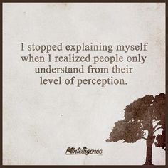 There comes a time when you just have to stop explaining yourself to others.... #spoonie