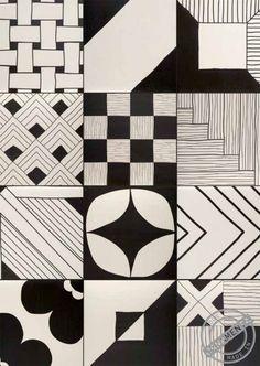 "TANGLE by Gamma Due. The Art of doodling ""Tutti possono disegnare"" ""Everyone can draw"" - Urban Edge Ceramics."