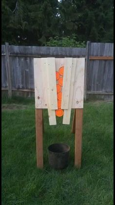 Fun idea for a lil target practice - High Fence Wildlife Association open forum