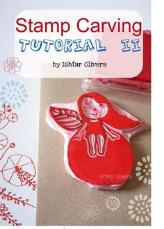 Ishtar Olivera is a fantastic illustrator from Spain. Her tutorials are great: stamp carving, shrinking plastic and more.