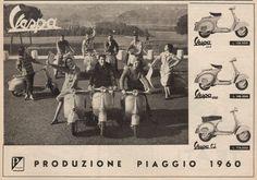 Pubblicità Vespa 1960