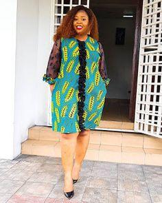 2019 Lovely Ankara Short Gown Styles for African Ladies Short African Dresses, Ankara Short Gown Styles, Short Gowns, Latest African Fashion Dresses, African Print Fashion, African Blouses, African Print Dress Designs, Africa Dress, African Traditional Dresses