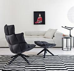 Designer Sessel HUSK in drei Versionen