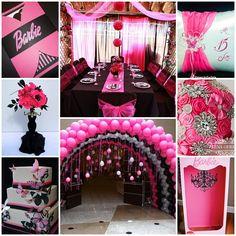 Barbie Quinceanera Sweet Fifteen Theme