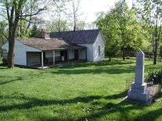 Jesse James Farm and Museum - Jesse was born here in 1847.  Just a stones throw from the Watkin's Mill State Park!
