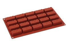 Forme silicon FORMAFLEX Multicavitati, 17,5x30cm : Forma Silicon Bare 20 cavitati, FR068