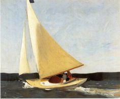 1_Sailing, 1911 by Edward Hopper