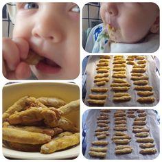Testlabor und digitale Fundgrube : Rezept [Baby]: Dinkelstangen ohne Zucker ab 6. Monat