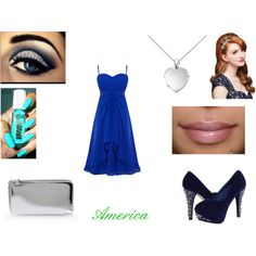 """""""America - Gala"""" by maiana-flor on Polyvore"""