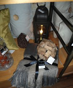 Cozy fall decor from Louise's Cottage & Home
