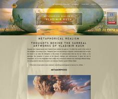 Surreal Artwork, Vladimir Kush, Painting Videos, Surrealism, Website, Design, Surreal Art, Surrealism Art