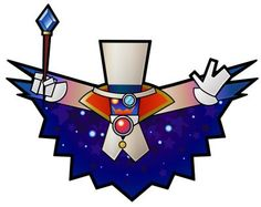 The evil Count Bleck, Mario's nemesis in Super Paper Mario.