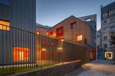 Vous Êtes Ici Architectes, Logements Sociaux, Parigi, Francia