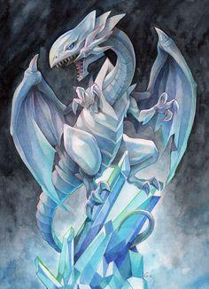 GOwenIllustration: Blue-Eyes White Dragon