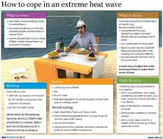 How to cope in an extreme heat wave. Washington DC is calling for high all week! Here are some great tips to keep cool while shight-seeing