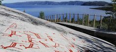 The UNESCO-protected rock carvings in Alta, Finnmark, bear witness to human activity in Northern Norway already in the prehistoric period.