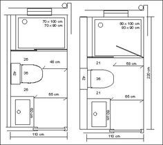 Ideas small bathrooms - B 250 Squeda And Google On Pinterest