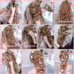 Image gallery – Page 503981014546337367 – Artofit Work Hairstyles, Little Girl Hairstyles, Braided Hairstyles, Wedding Hairstyles, Bridesmaid Hair, Prom Hair, Long Hair Wedding Styles, Long Hair Styles, Peinado Updo