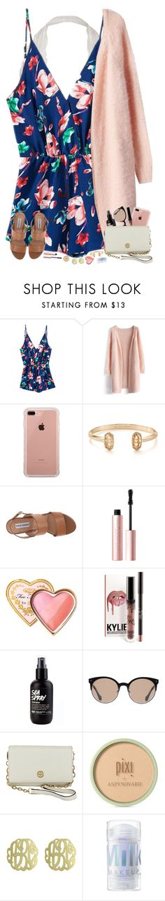 """""""mother daughter tea at my church today! """" by hopemarlee ❤ liked on Polyvore featuring Chicwish, Belkin, Kendra Scott, Steve Madden, Too Faced Cosmetics, Balenciaga, Tory Burch, Pixi and Initial Reaction"""