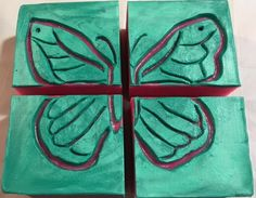 Intaglio Soap Challenge - this made large bars. Soaps, Coasters, Challenge, Pretty, Hand Soaps, Coaster, Soap