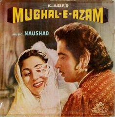 Mughal-e-Azam Saga of love! Old Movie Posters, Film Posters, Retro Posters, Vintage Posters, Hollywood Poster, Vintage Bollywood, Bollywood Party, Movie Prints, Vinyl Music