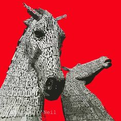 Kelpies, £20.00 available in Red, Green or Blue