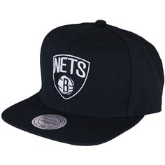 Mitchell   Ness Wool Solid 2 Brooklyn Nets Cap    wearing this meow 75ffa00a9a64