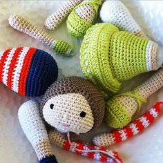 The Imaginative #Crochet Dolls by RicePuddingBaby
