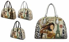 #FashionHandbags #DesignerHandbags #Designertotebag   #Designertotebags #tote   #totebag   #womantotebag   DESIGNER ILLUSTRATION STUDDED TOP HANDLE BAG WM1346  http://wholesaleneobags.com  Zipper top closure Textured faux leather Inside lining with zip/open pockets Rear zipper pocket 20 inch handles & 50 inch adjustable strap 14 (W) x 5 (D) x 10 (H) inches www.wholesaleneobags.com #wholesalehandbags   #wholesalefashionhandbags   #wholesaledesignerhandbags   #eveningclutchbags…