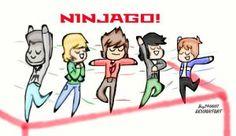 Ninjago / Twirling by jay340007