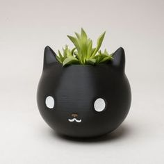 3D printed cute cat planter from Etsy