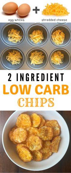 2 Ingredient Low Carb Chips 2 Ingredient L. 2 Ingredient Low Carb Chips 2 Ingredient Low Carb Chips diet for beginners Keto Foods, Healthy Diet Recipes, Keto Recipes, Snack Recipes, Dessert Recipes, Appetizer Recipes, 2 Ingredient Recipes, Healthy Chips, Appetizer Dessert