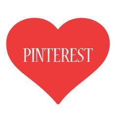 Pinterest is love. Pinterest is life...HAHA