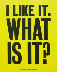 Eye Magazine   Blog   Tear and share Anthony Burrill posters published in a new book by Apfel.