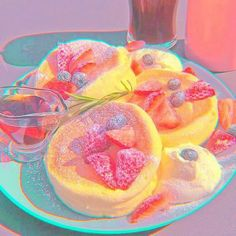 Rainbow Aesthetic, Aesthetic Food, Pink Aesthetic, Pink Popcorn, Japanese Snacks, Pink Themes, Cute Desserts, Aesthetic Backgrounds, Pretty And Cute
