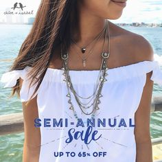 Save on these beautiful bestsellers + more with our Semi-Annual Sale! http://www.chloeandisabel.com/boutique/glimmer