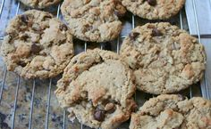 Another flourless oatmeal peanut butter chocolate chip cookie. Omit butter and use applesauce for an even more low fat version