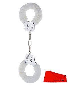 H3006009503 FURRY FUN CUFFS weißen Plüsch Bondage Handschellen cuffs Sex Toys