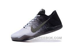 huge selection of fc03e ba309 Kobe 11 Low Black And White Grey Shoes Free Shipping, Price 93.00 -  Reebok Shoes,Reebok Classic,Reebok Mens Shoes