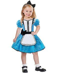 Toddler Alice in Wonderland Costume - Spirithalloween.com
